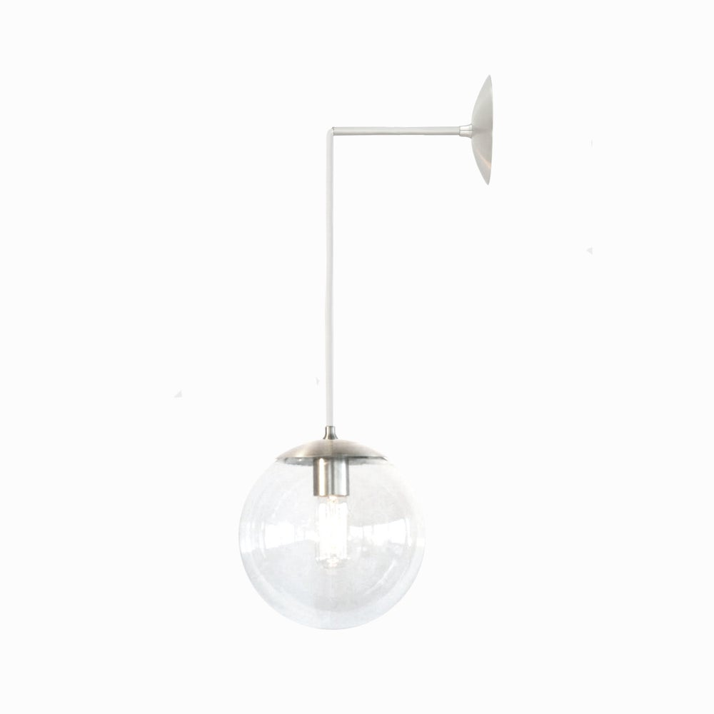 Wall Pendant Light: Wall Mount Orbiter 8 Pendant Light / Sanctum Lighting
