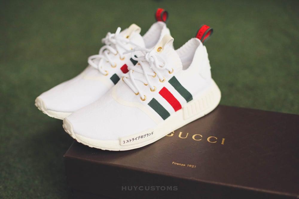 Image of NMD Japan x Italy custom