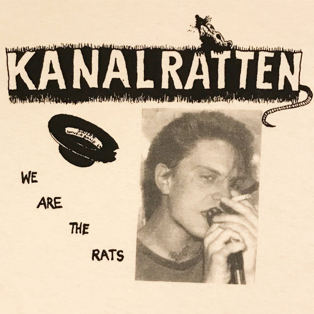"Image of Kanalratten ""We are the Rats"" Tee"