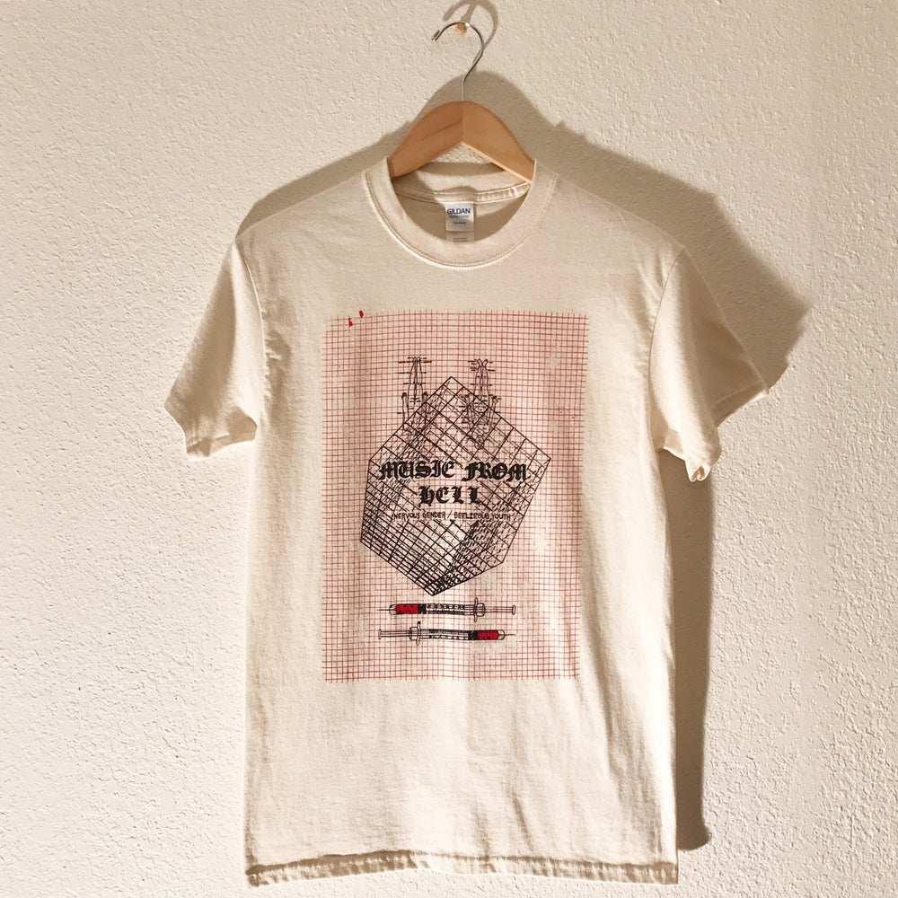 "Image of Nervous Gender ""Music From Hell"" Tee"