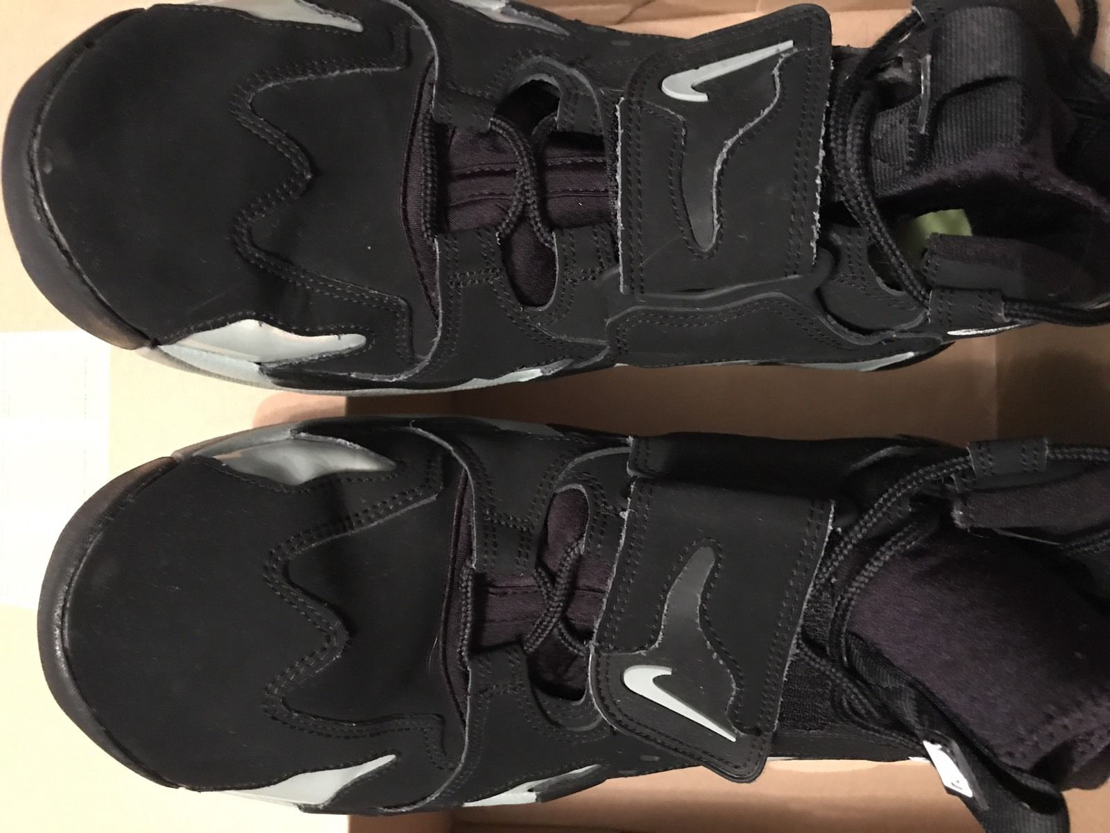 Nike Air dT Max 96 Deon Sanders Black Mica Green Volt Size 13 Used