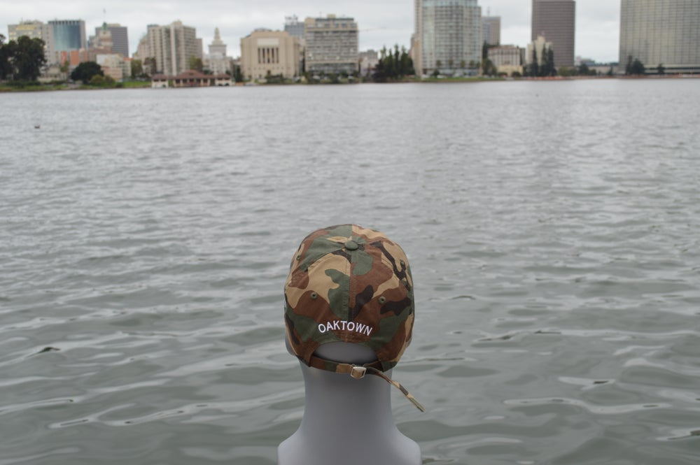 Image of Camouflage Polo Cap.