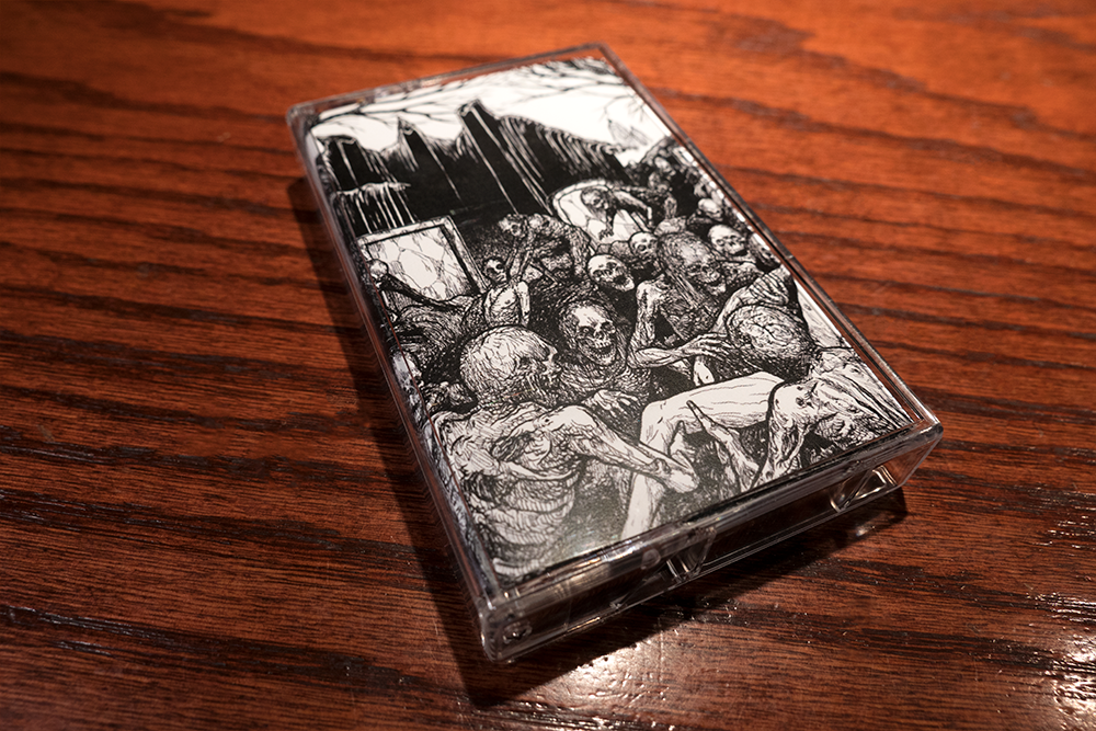 Image of Circle of Death Split with God Fearing Fuck Cassettes