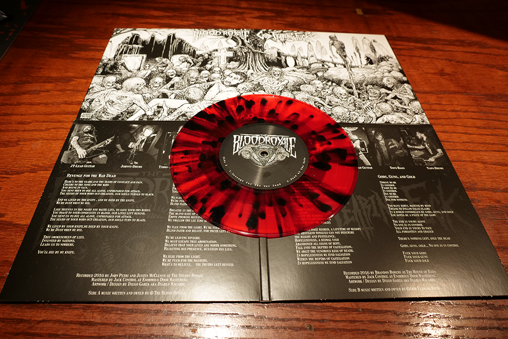 Image of Circle of Death Split with God Fearing Fuck  7 Inch