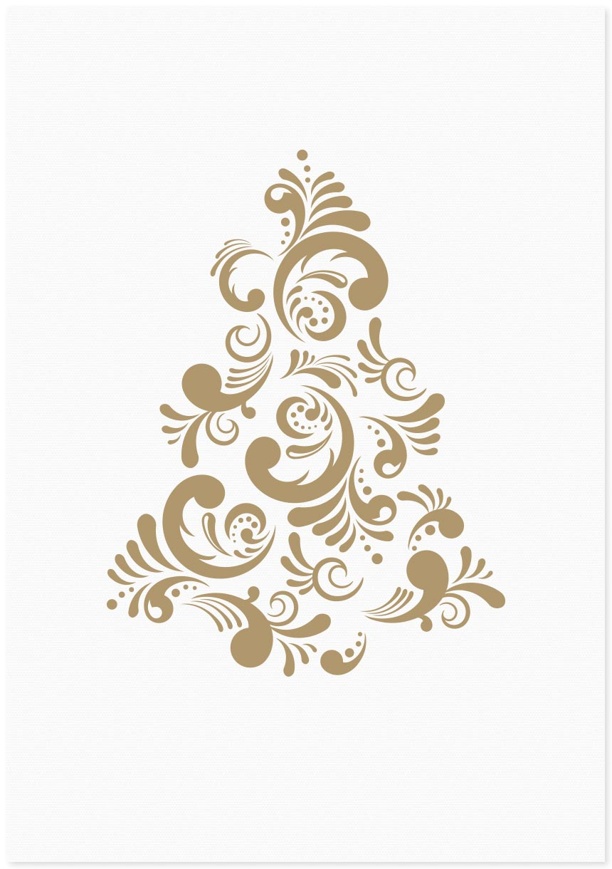 Image of Christmas Tree | Gold
