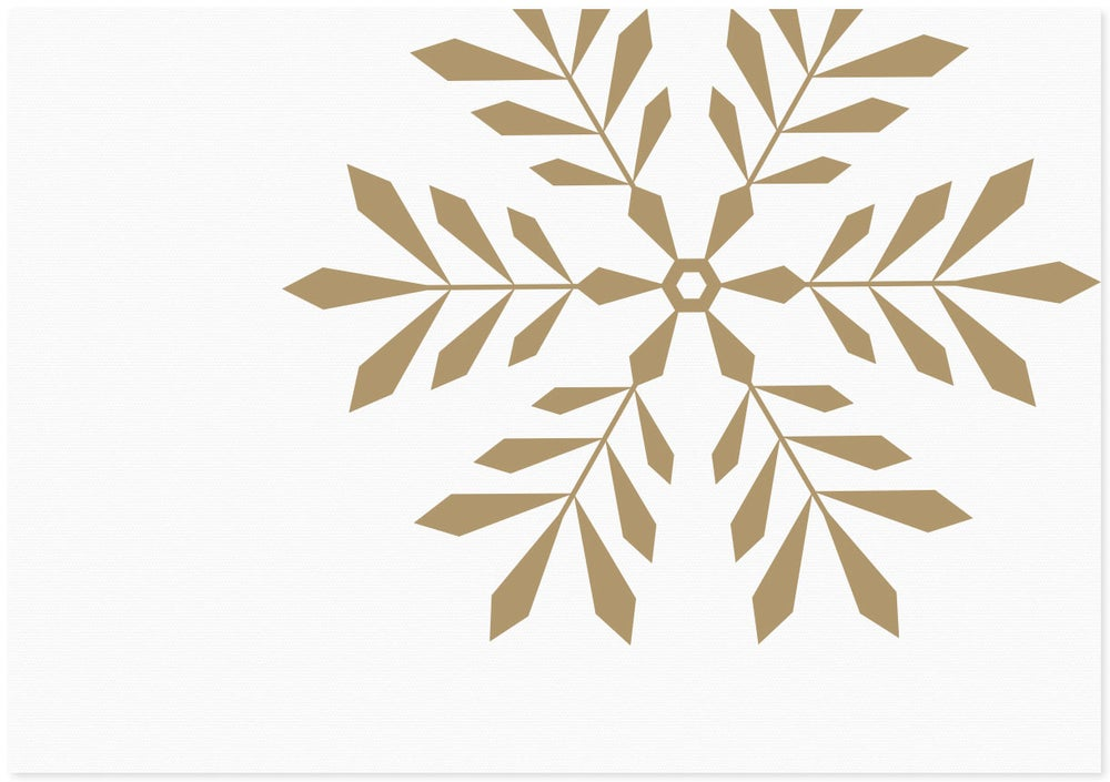 Image of Snowflake | Gold