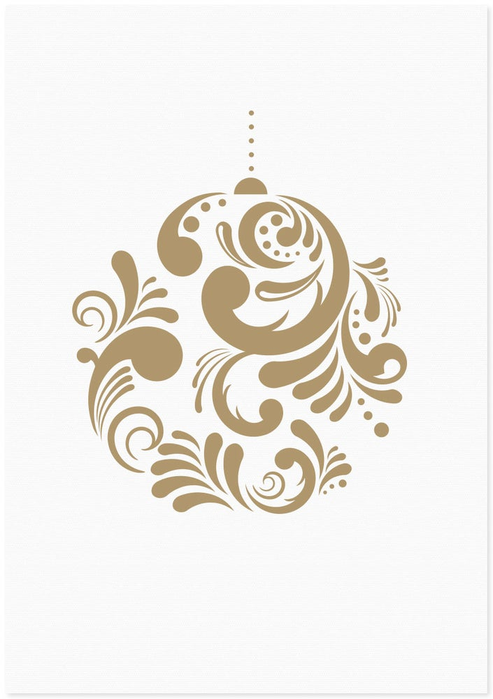 Image of Christmas Bauble | Gold