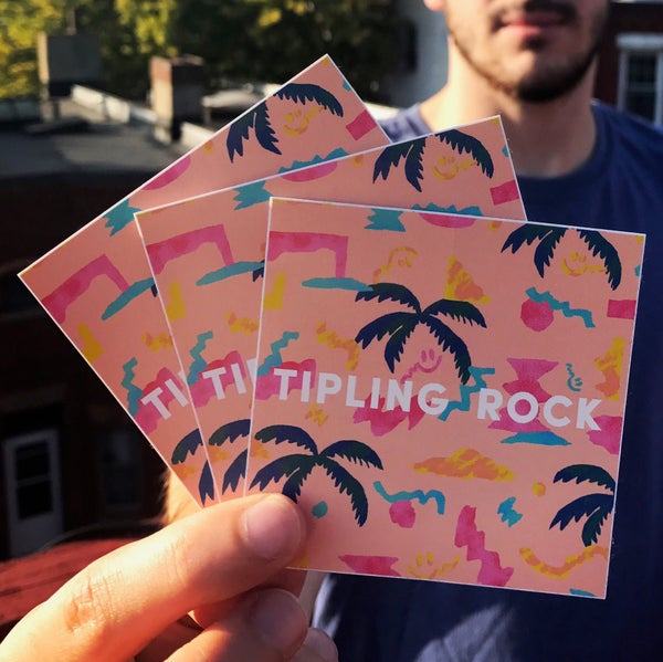 Image of Tipling Rock Stickers (3-pack)