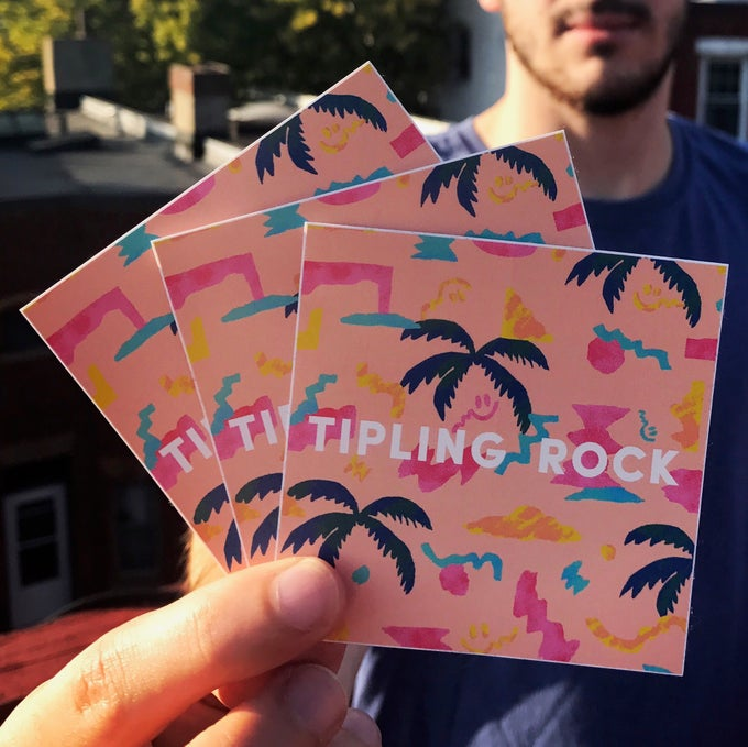 Image of Tipling Rock Stickers (3 pack)