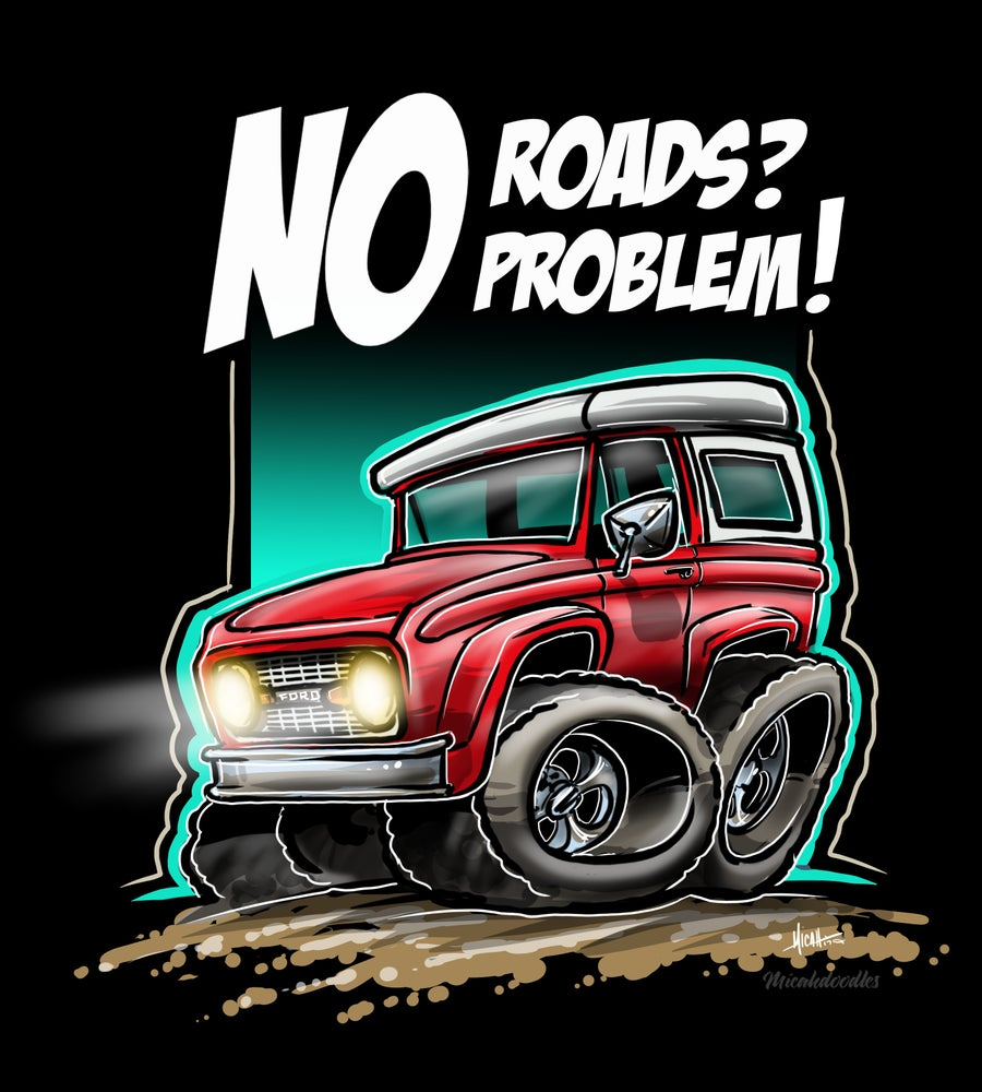 Image of NO ROADS...NO PROBLEM
