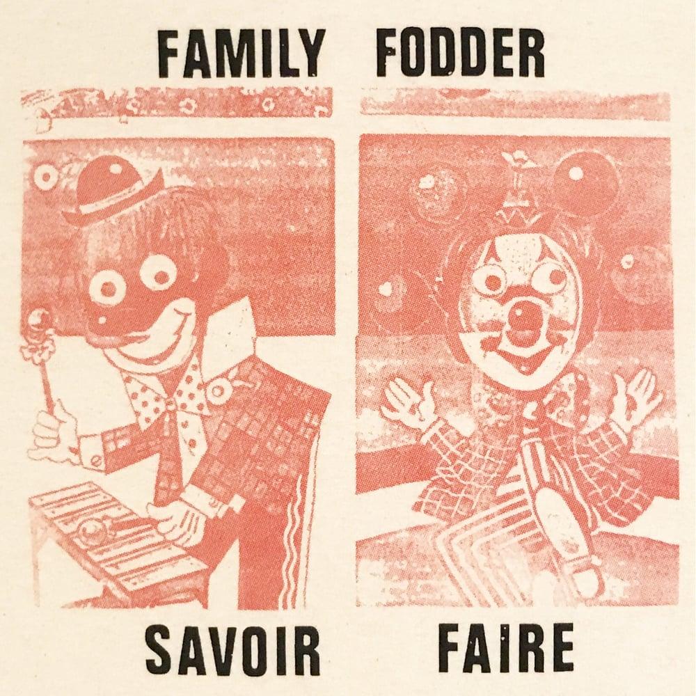 "Image of Family Fodder ""Savoir Faire"" Tee"