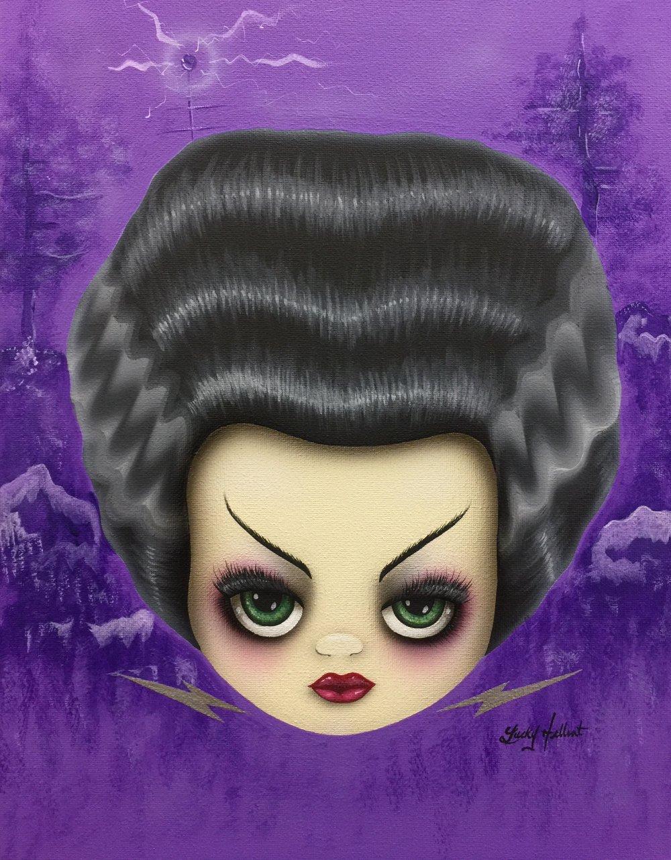 Image of Little Miss Frankenstein Print