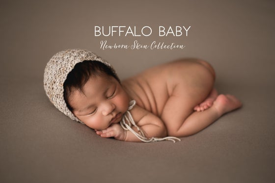 Image of Buffalo Baby Newborn Skin Action Set for PS CC