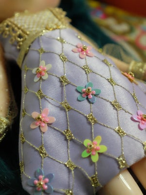 Image of Lounging Linda ~ Fabergé Egg Dress ~ Lilac