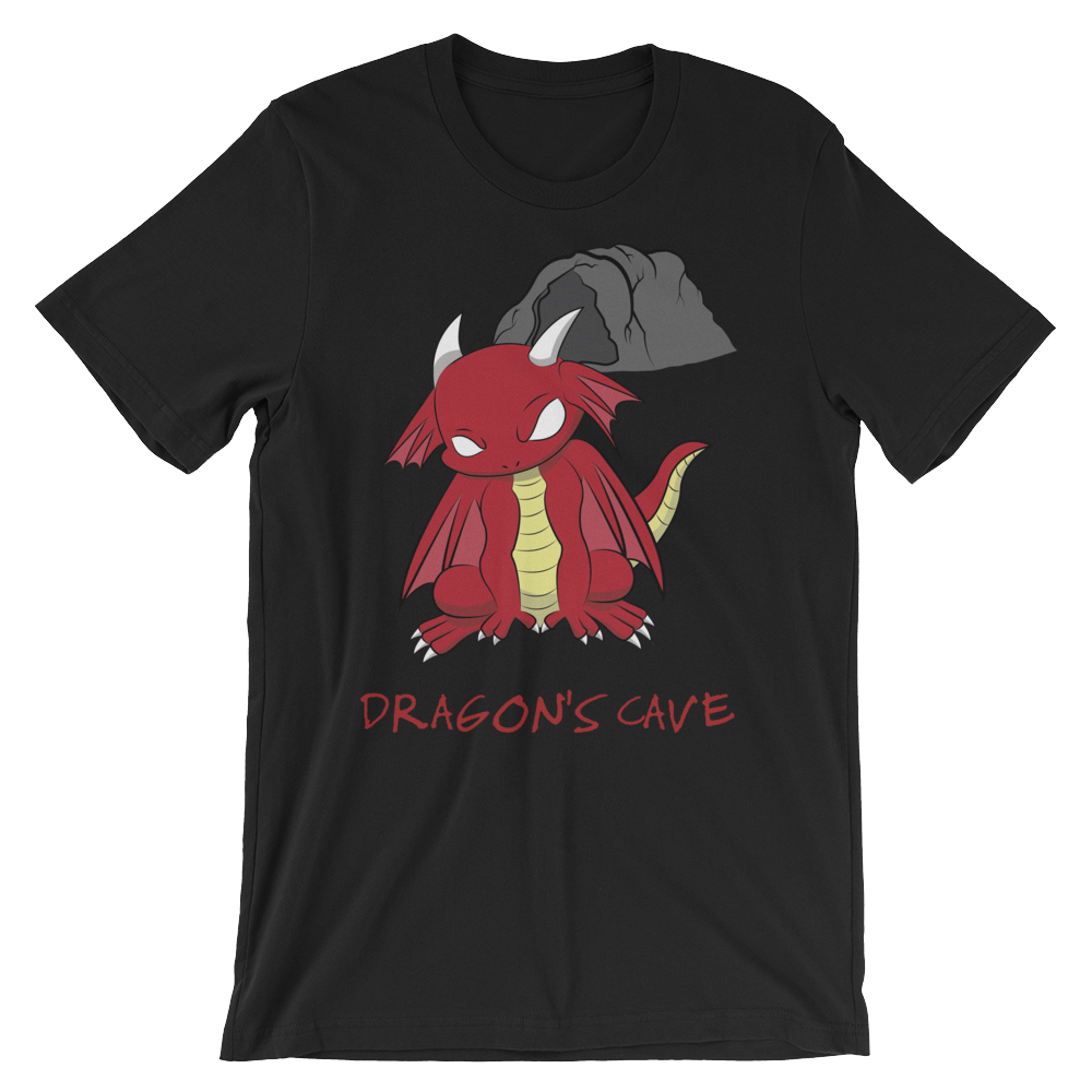 Dragon's Cave Tee - Red Dragon