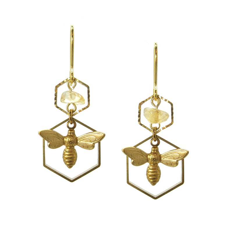 Image of HONEY BEE Earrings