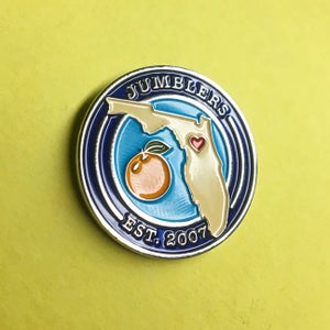 "Image of ""JUMBLERS 2017"" Enamel Pin"