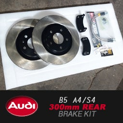 PROJECTB5 - B5 AUDI S4/A4 300mm REAR Brake Upgrade