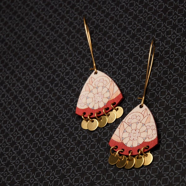 "Image of ""ABRIL"" EARRINGS"
