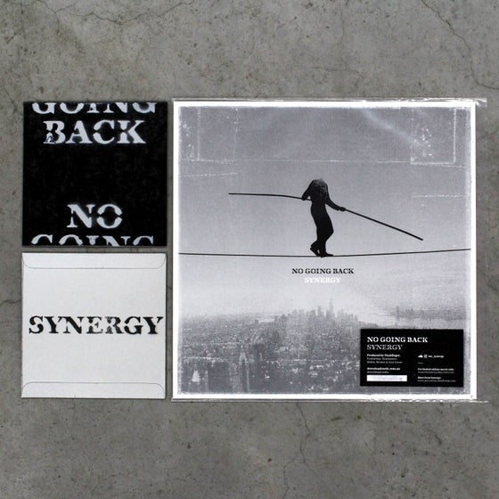Image of 'No Going Back' CD + Vinyl Pack (X/15)