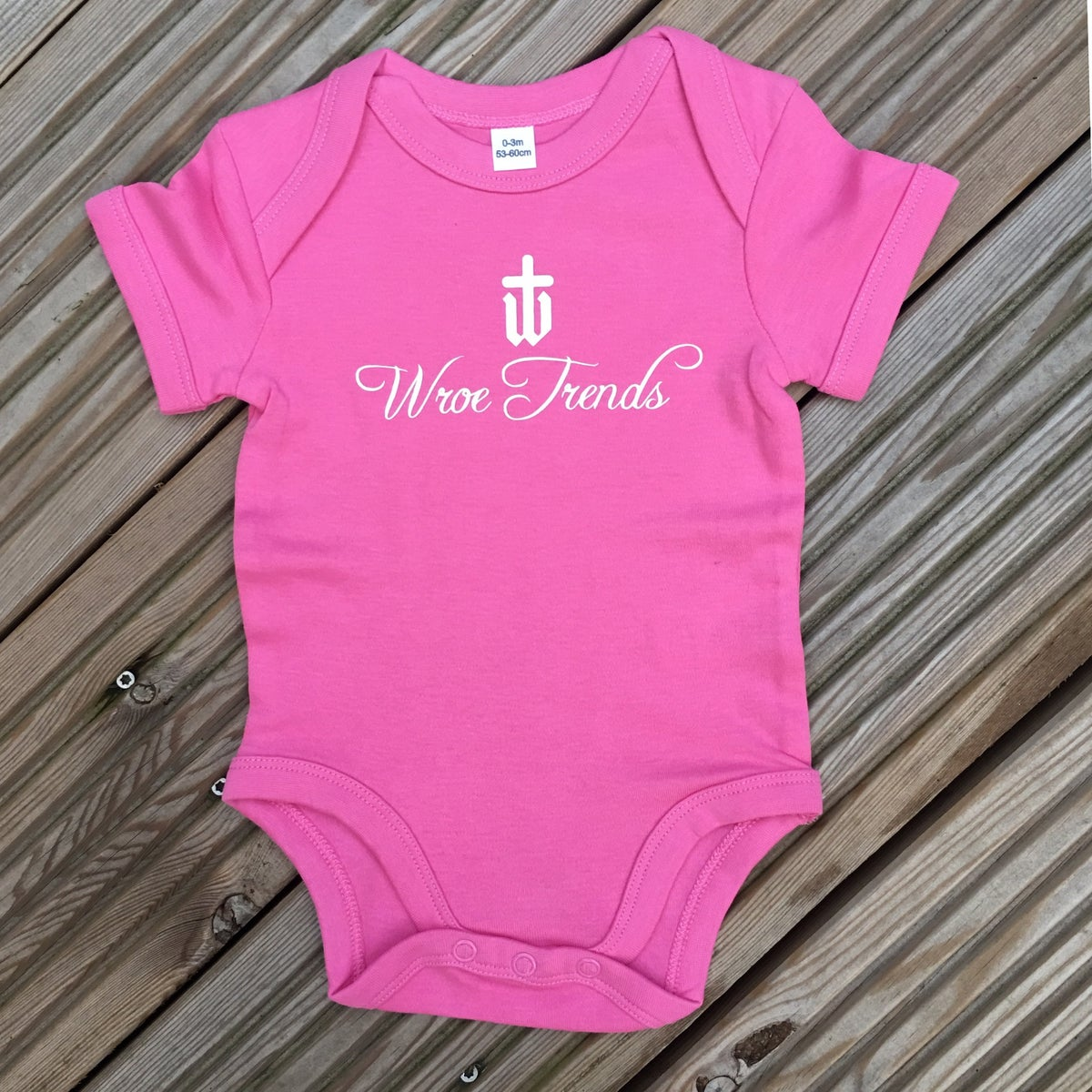 Image of BABY GROW • PINK