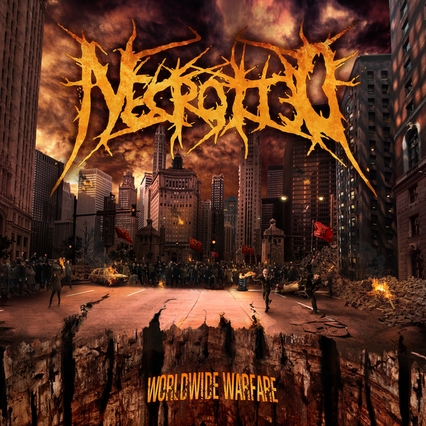 Image of NECROTTED - Worldwide Warfare CD