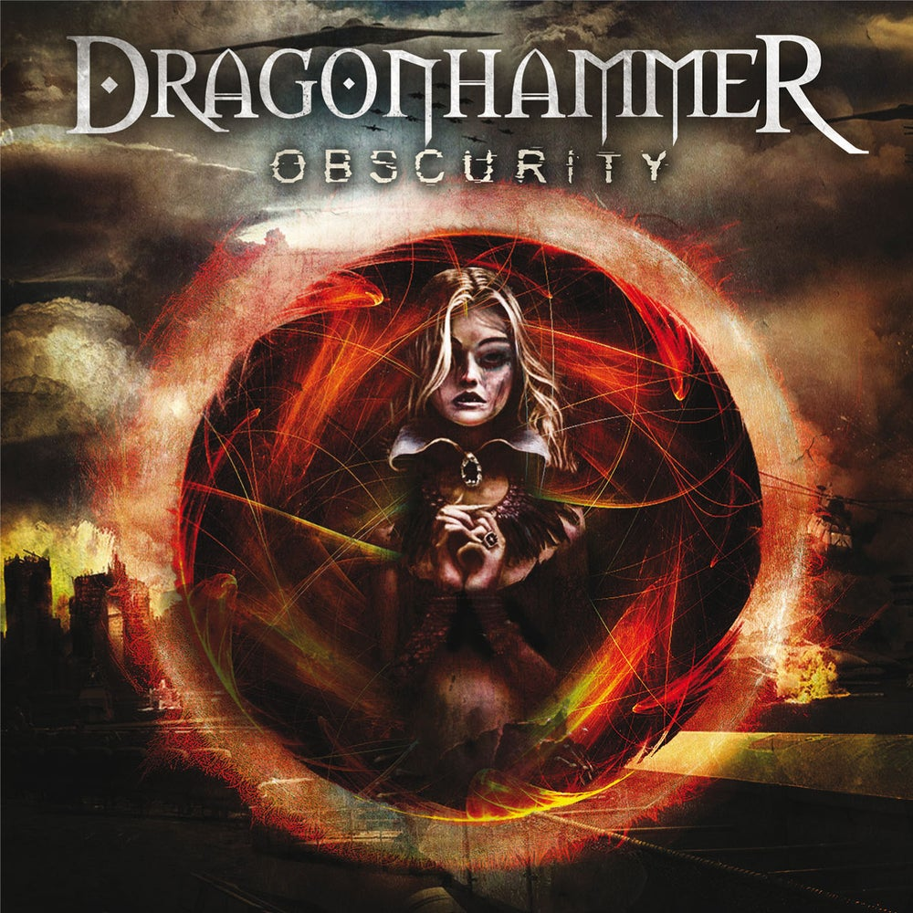 "Image of DRAGONHAMMER ""Obscurity"" CD"