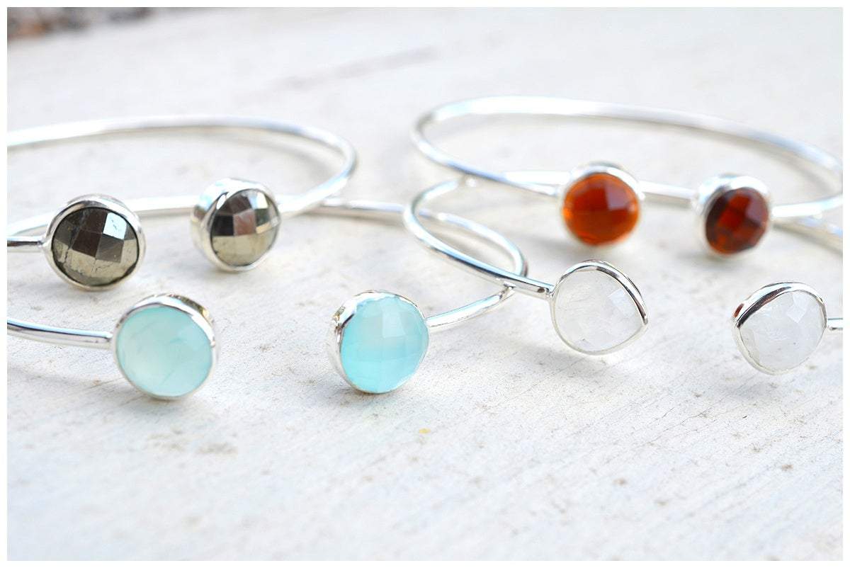 Image of Gemstone Bangles
