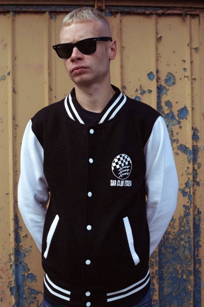Image of SKA CLUB ESSEX VARSITY JACKET (UNISEX)