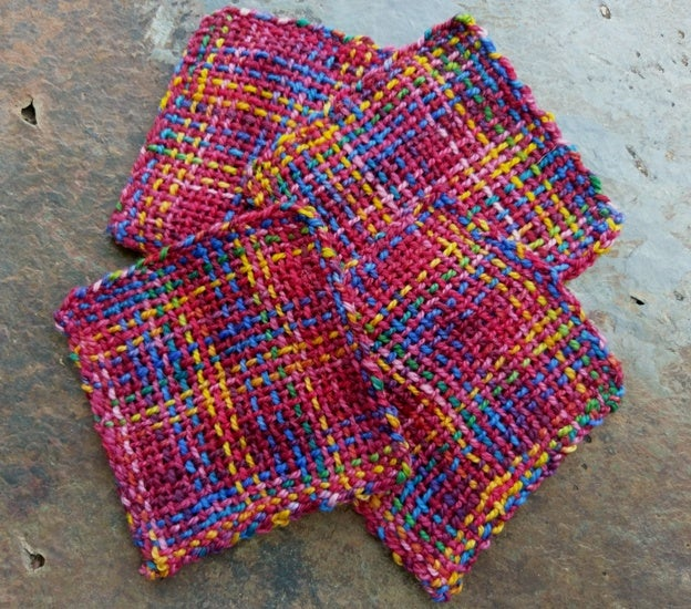 Image of Carnival Handwoven Coasters