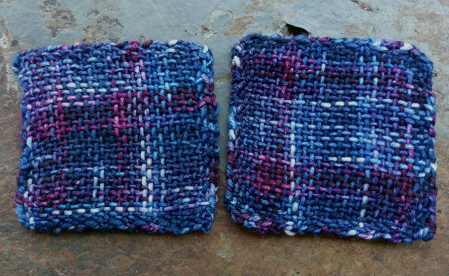 Image of Dusk, handwoven coasters