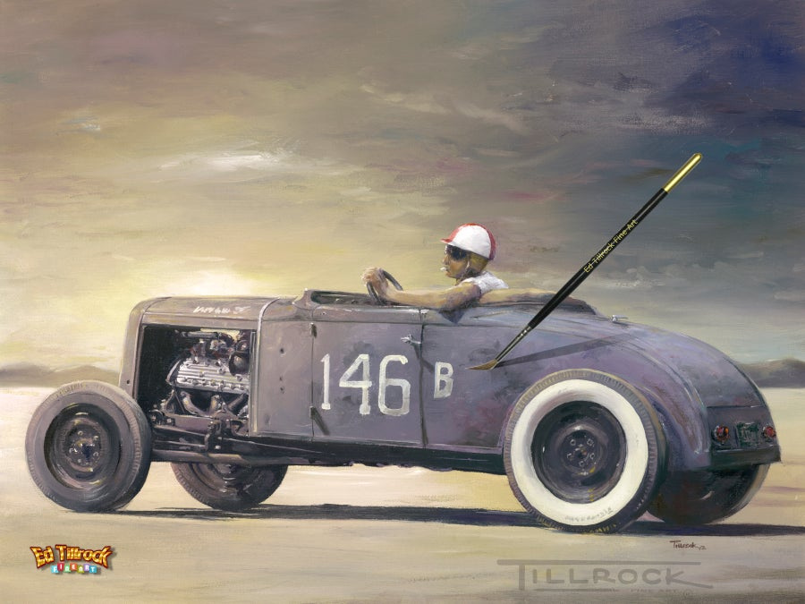 "Image of ""146B Roadster"" Color 11x17 Print"
