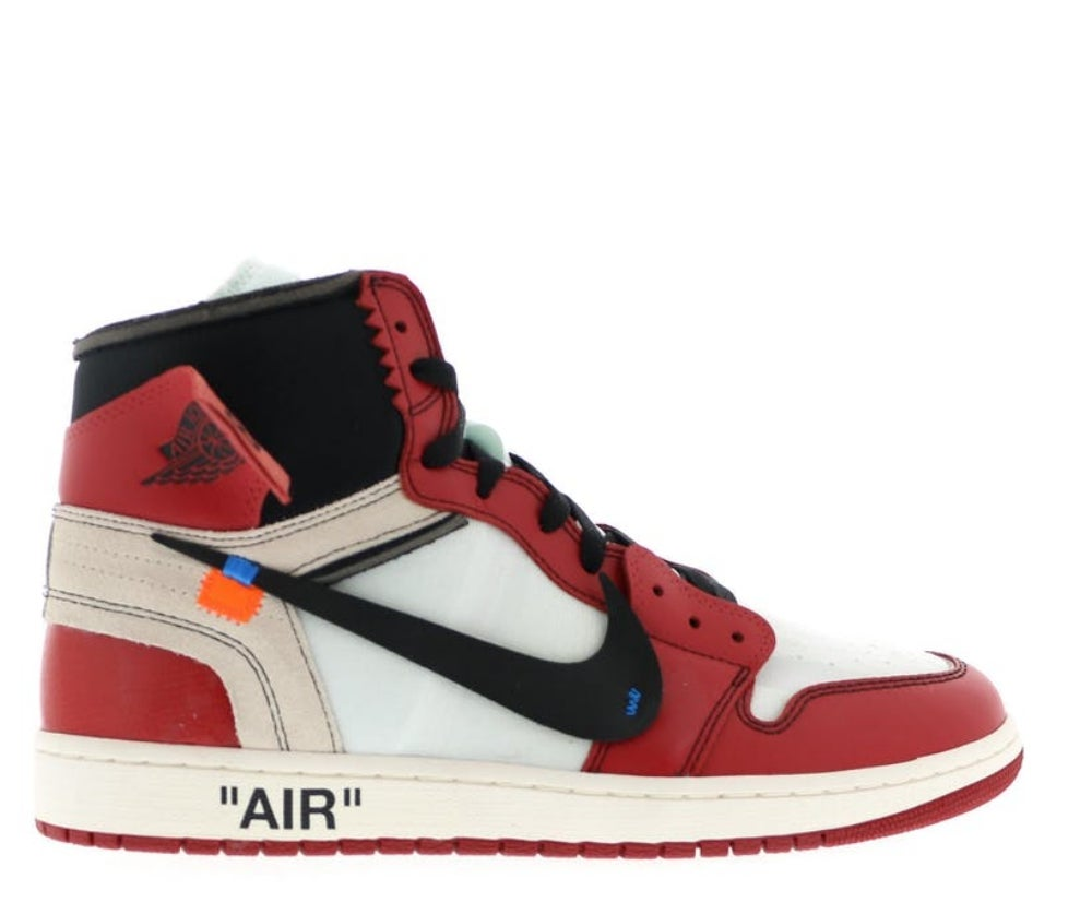 Image of NIKE X OFF WHITE AIR JORDAN 1 'VIRGIL CHICAGO' AA3834-101