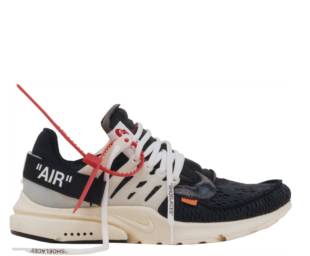 Image of NIKE X OFF WHITE PRESTO VIRGIL AA3830-001