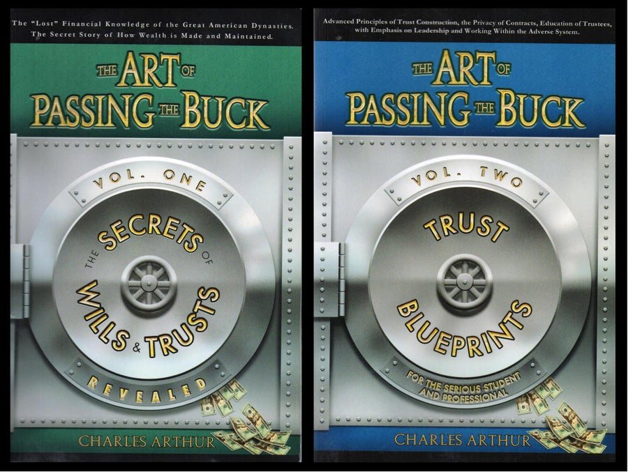 Image of The Art of Passing the Buck, By Charles Arthur