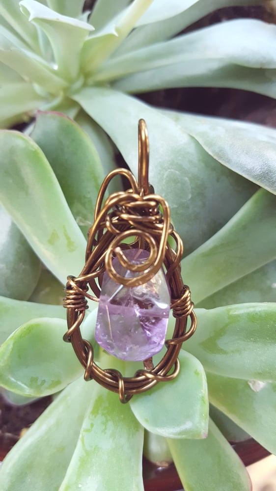 Image of Ametrine necklace