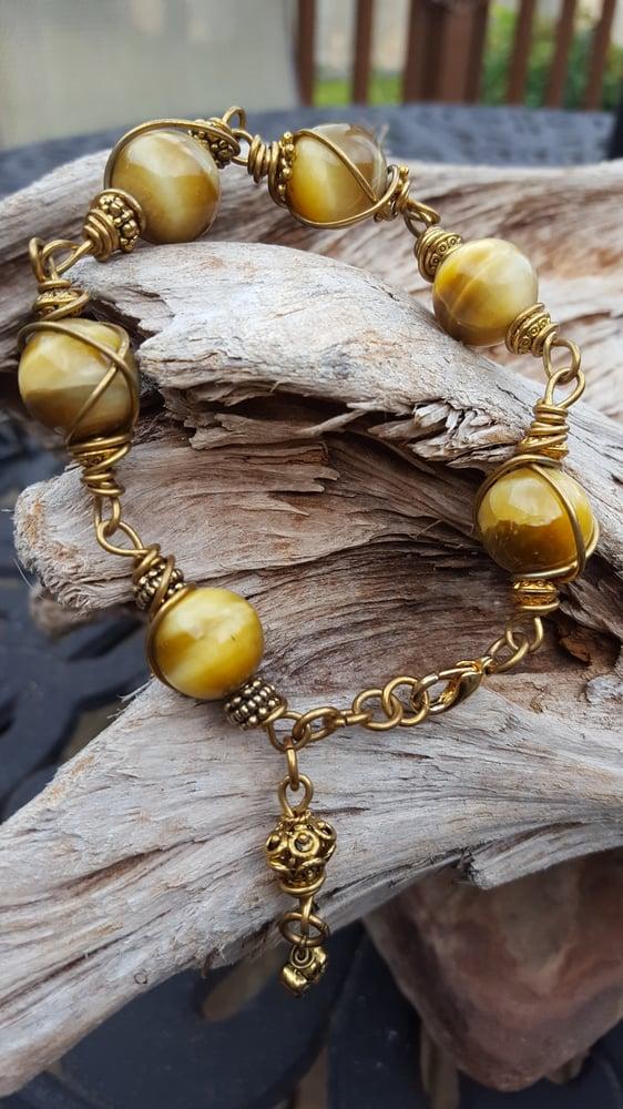 Image of Honey tigers eye bracelet