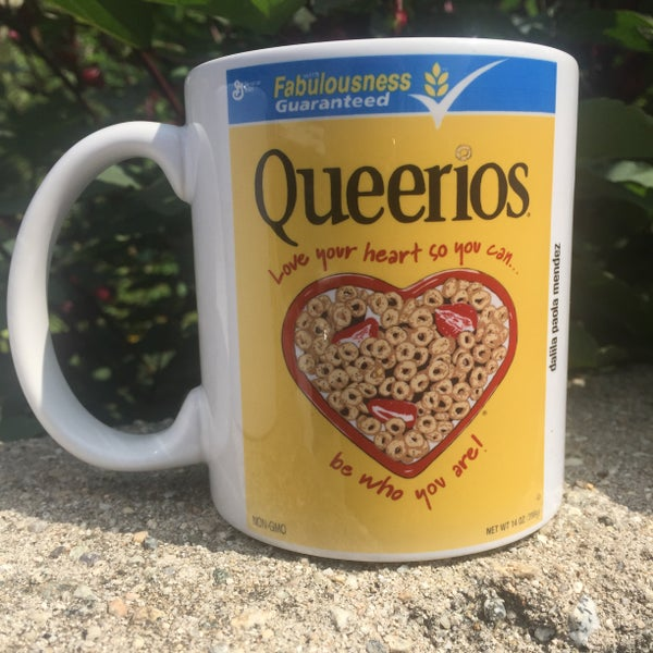Image of Ceramic Queerios Mug