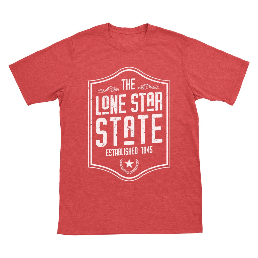 Image of Lone Star State Tee - Red
