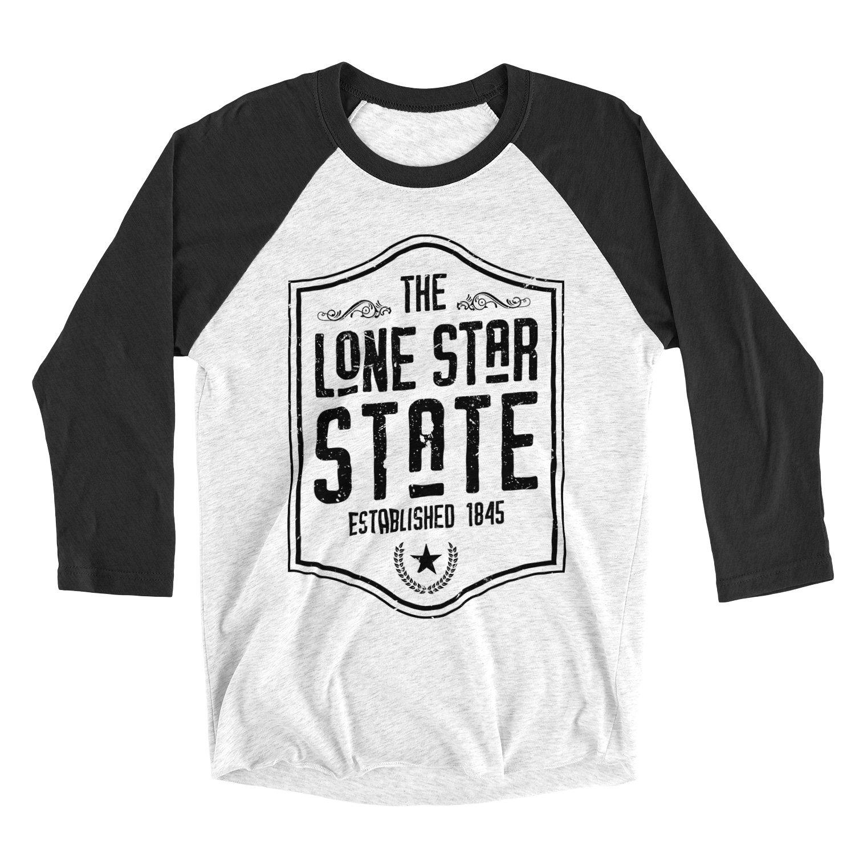 Image of Lone Star State - 3/4 Raglan Tee