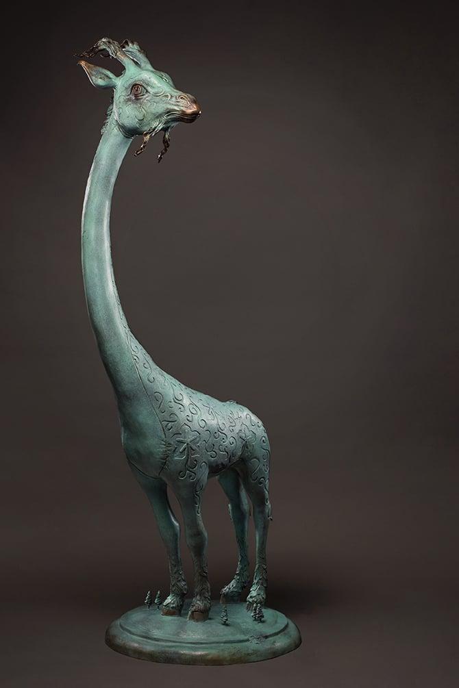 """Image of """"Beau Monde"""" <br>Original Bronze Sculpture <br>by Scott Musgrove"""