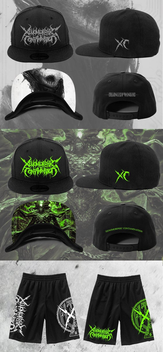 Image of NEW MESH SHORTS AND SNAP-BACK - PREORDER NOW!!!