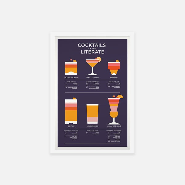 COCKTAILS OF THE LITERATE - Sorry.