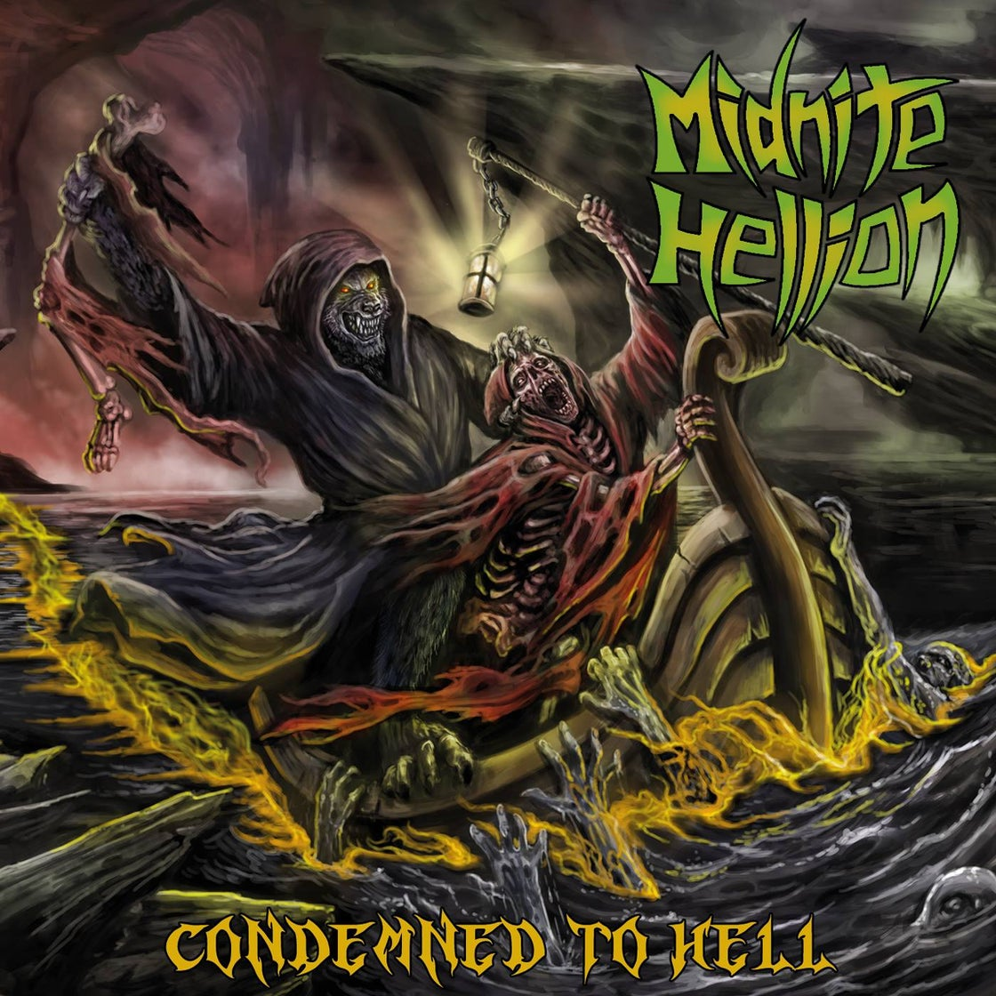 """Image of """"Condemned To Hell"""" CD/Cassette"""