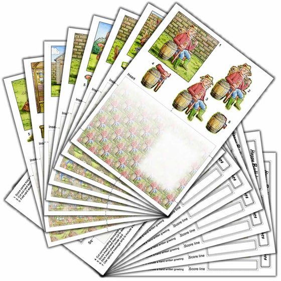 Image of C6 Card Kit - Mark Bardsley Bundle