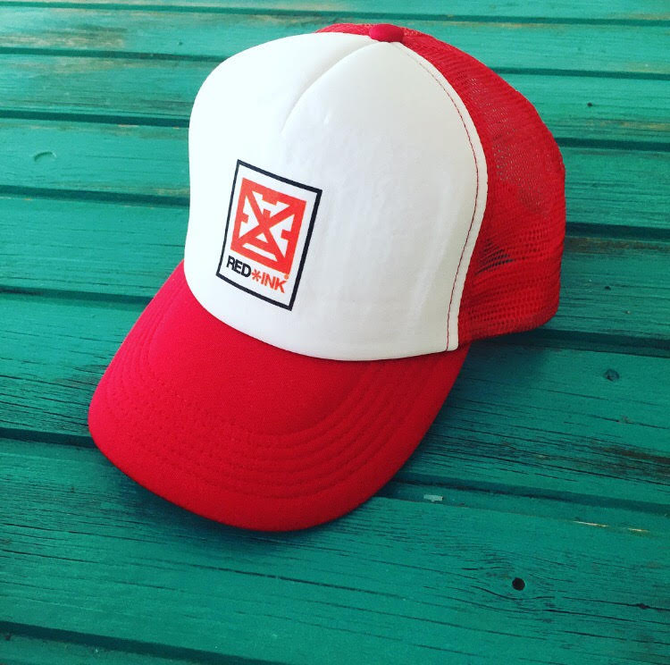 Image of GORRA TRUCKER LOGO RED*INK ROJA