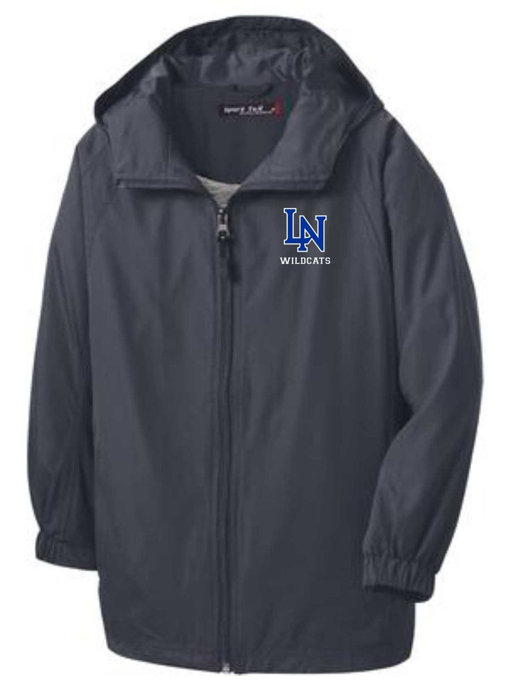 Image of Awesome Hooded Lined Windbreaker Jacket - customization available