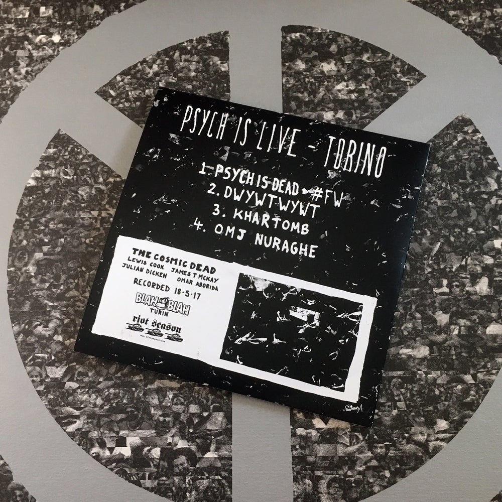 THE COSMIC DEAD 'Psych Is Live' CD-R
