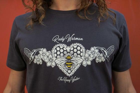 Image of (RRP £20) Organic Humming Bird & Honey Bee T