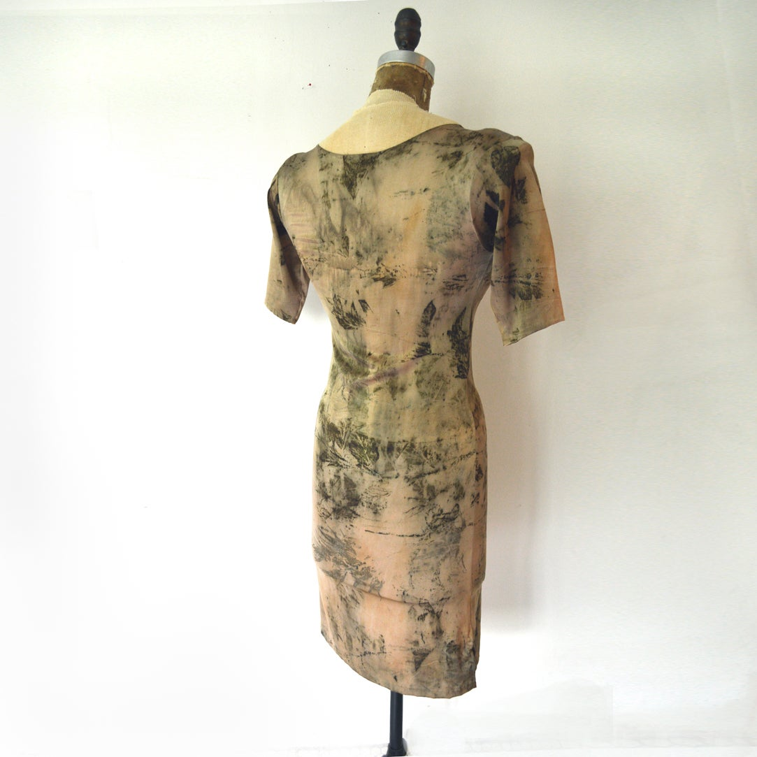 Image of a lighter shade of pale second skin dress